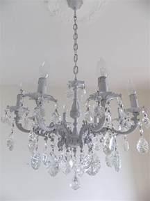 Grey Chandelier Light Grey Italian Vintage Glass Crystal Chandelier