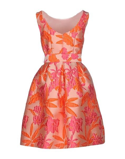 p a r o s h dress in pink salmon pink lyst