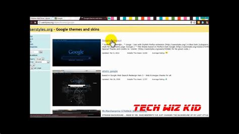chrome themes delete tip how to install stylish themes in google chrome youtube