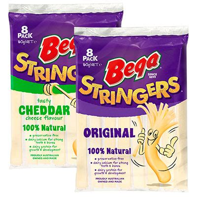 Bega Cheese Stick Stringers stringers