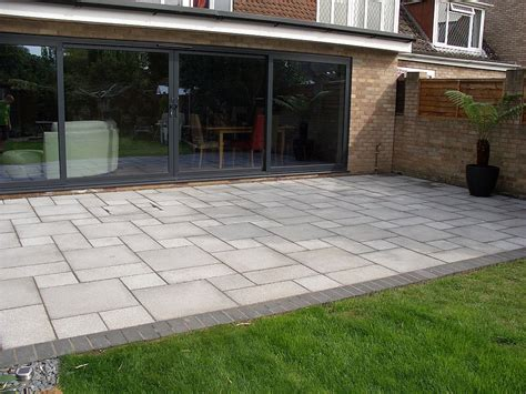 large grey patio doors