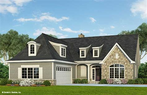 Home Plan The Tristan By Donald A Gardner Architects 2 Story House Plans With Side Entry Garage