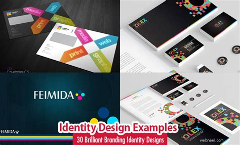 design inspiration identity 30 creative branding identity design exles for your