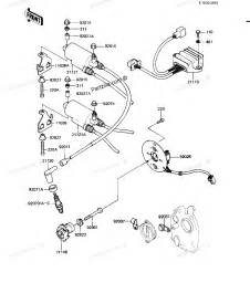 Kawasaki Ignition Parts Kawasaki Motorcycle Parts 1983 Kz550 H2 Gpz Ignition Diagram