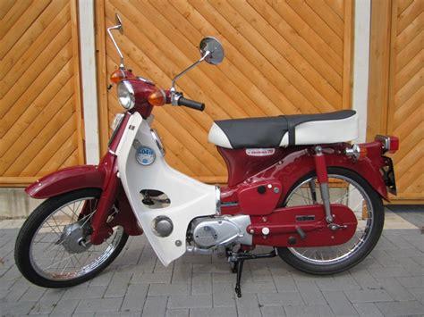 Honda C70 70cc Tahun 1971 restored honda c70 1973 photographs at classic bikes