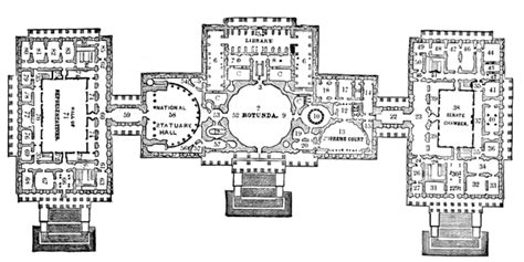 us capitol building floor plan u s capitol