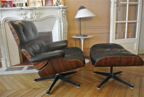 Fauteuil Herman Miller Occasion 3531 by Fauteuil Eames Ottoman