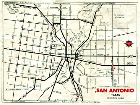 texas map san antonio highway maps of texas