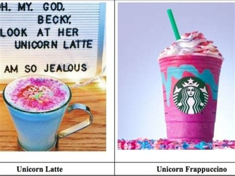 Chaign Court Records Unicorn Frappuccino Lawsuit Settled Out Of Court Records Show Ny Patch
