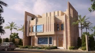 islamic pattern elevation modern islamic design villa in saudi arabia designed by