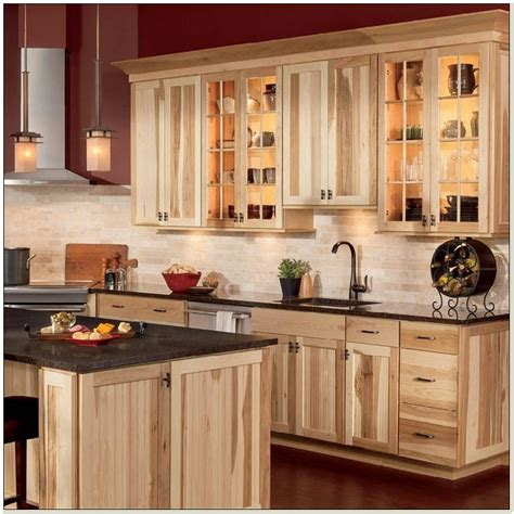 hickory kitchen cabinets natural characteristic materials natural hickory kitchen cabinets features natural hickory