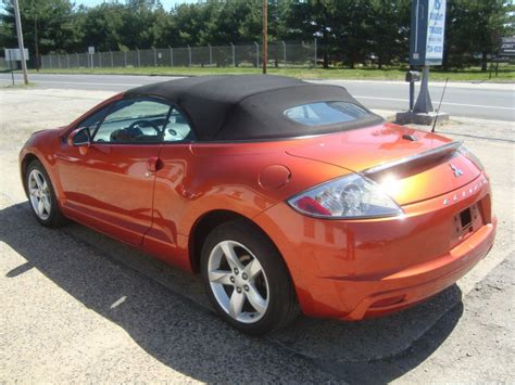 convertible mitsubishi eclipse for sale lightly damaged 2009 mitsubishi eclipse spyder gs