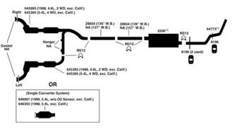 1998 Ford Ranger Exhaust System Diagram 1998 Ford Explorer Exhaust System Diagram