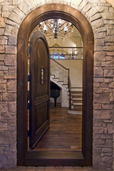 Rustic Door Stops Entry Rustic With Wood Flooring Wood Exterior Door Stops