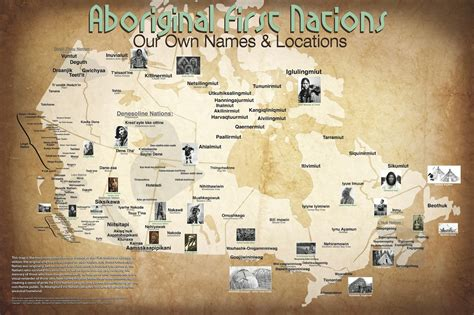 canadian map of indian tribes indigenous names and places on map gives true perspective
