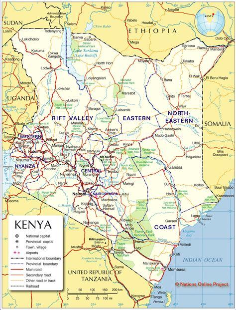world map of kenya kenya political map political map of kenya