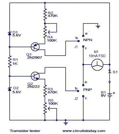 transistor testing resistor tester circuit 28 images noor electronic circuits transistor tester circuit
