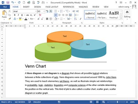 how to make a venn diagram on microsoft word 2003 venn diagram templates for word