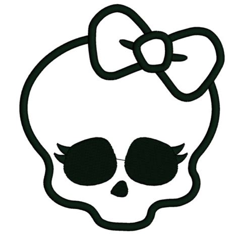 image gallery monster high skull logo