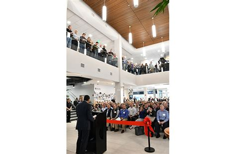 Delta Faucet Corporate Headquarters by Delta Faucet Reopens Headquarters After Renovation