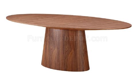 chelsea dining table in walnut by j m