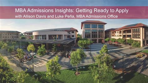 Admission In Stanford Mba by Mba Admissions Insights Getting Ready To Apply