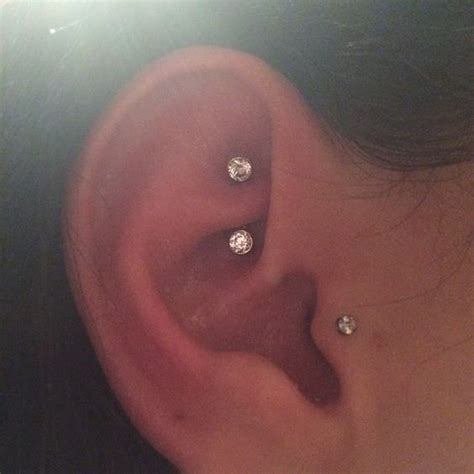 the gallery for gt ear piercings chart