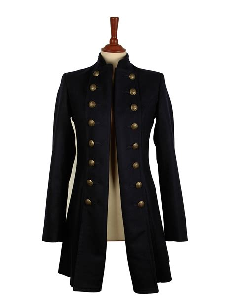 Jaket Navy the brace pirate jacket in navy brace coats jackets