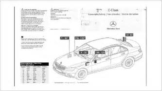 mercedes c class w204 fuse diagrams and commonly blown fuses mbworld