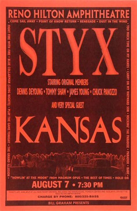 foreigner official fan foreigner with styx and kansas tour presales
