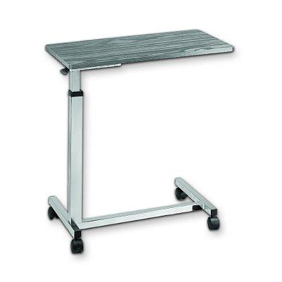 adjustable table with wheels 301 moved permanently