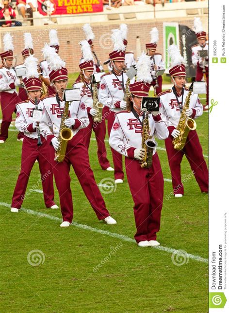 the marching chiefs of florida state the band that never lost a halftime show books college football editorial stock photo image 33527988