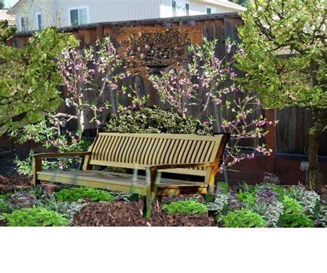 Backyard Fruit Orchard by Gardenwright Garden Design Recipe Of The Week A Wall Of