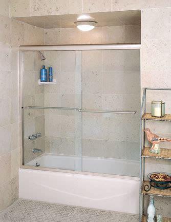 Centec Shower Doors Centec Semi Frameless Tub Slider Traditional Bathroom
