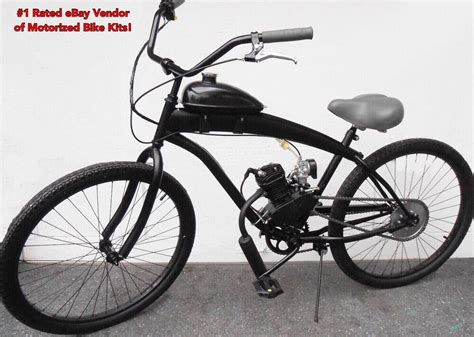 80cc Bicycle Motor by 66cc 80cc Engine Stretch Cruiser Bike Kit Motorized