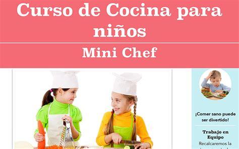 25 genial cursos cocina ni 241 os im 225 genes talleres