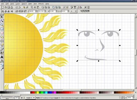 tutorial do inkscape penguin pete s blog inkscape tutorial the sun