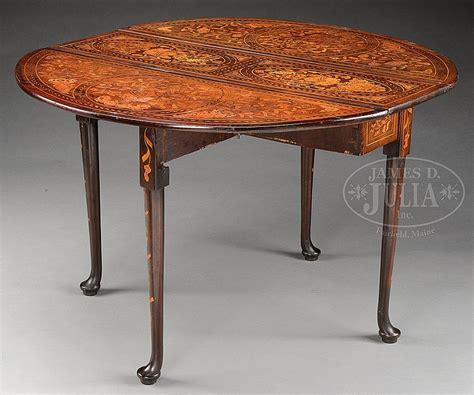 swing leg table fine marquetry queen anne drop leaf swing leg table