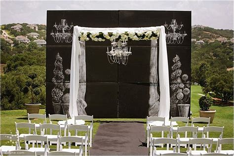 chalkboard paint backdrop chalkboard backdrop for ceremony focal point wedding