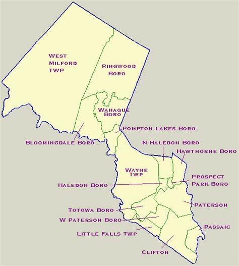 Passaic County Records Passaic County Nj Genweb Project Geography Atlas