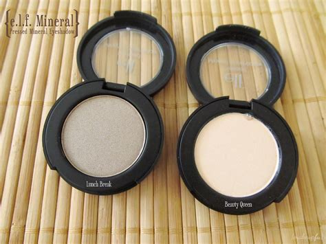 e l f mineral pressed mineral eyeshadow review makeupfu