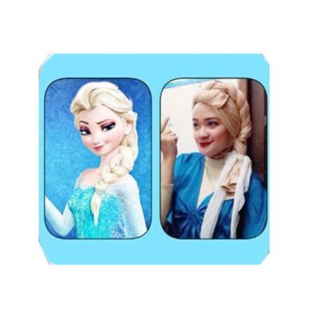 Gaya Rambut Elsa by Tutorial Gaya Rambut Elsa Frozen Sarangnyatutorial