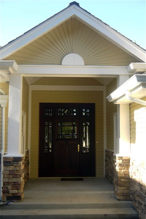 Unique Front Door Unit With Sidelights And Transom Front Door Units