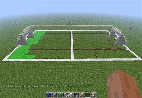 soccer field minecraft project