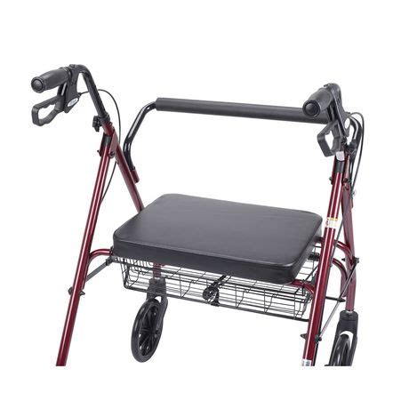 rolling walker with seat walmart drive heavy duty bariatric rollator with large