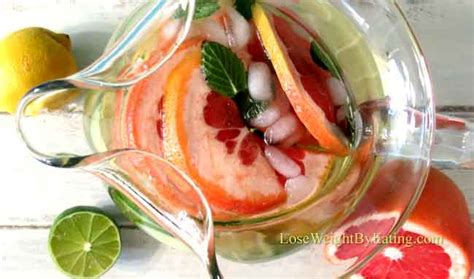 Detox Water Cucumber Lemon Mint Grapefruit by Detox Water The Top 25 Recipes For Fast Weight Loss