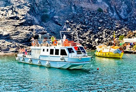 greek island boat tours cruises from santorini cruises in greek islands greece