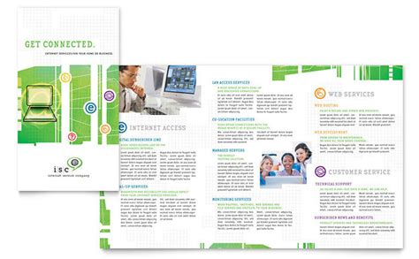service brochure template isp service brochure template design