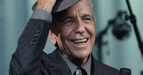 Cohen Is No by Leonard Cohen Revealed Relief At No Longer F Ing Up In