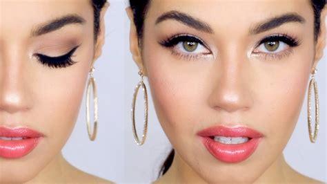 tutorial makeup natural glamour natural glam makeup tutorial eman youtube